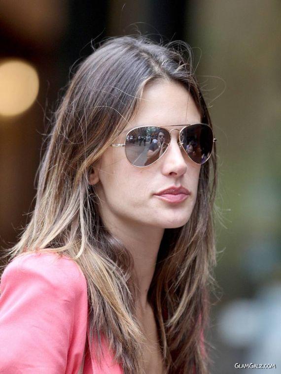 Alessandra Ambrosio Candids in NYC