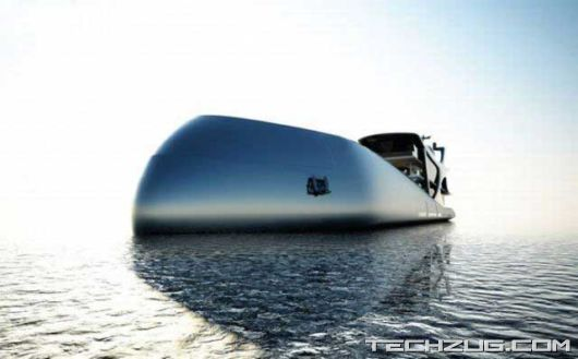 The Luxurious Super Boat'