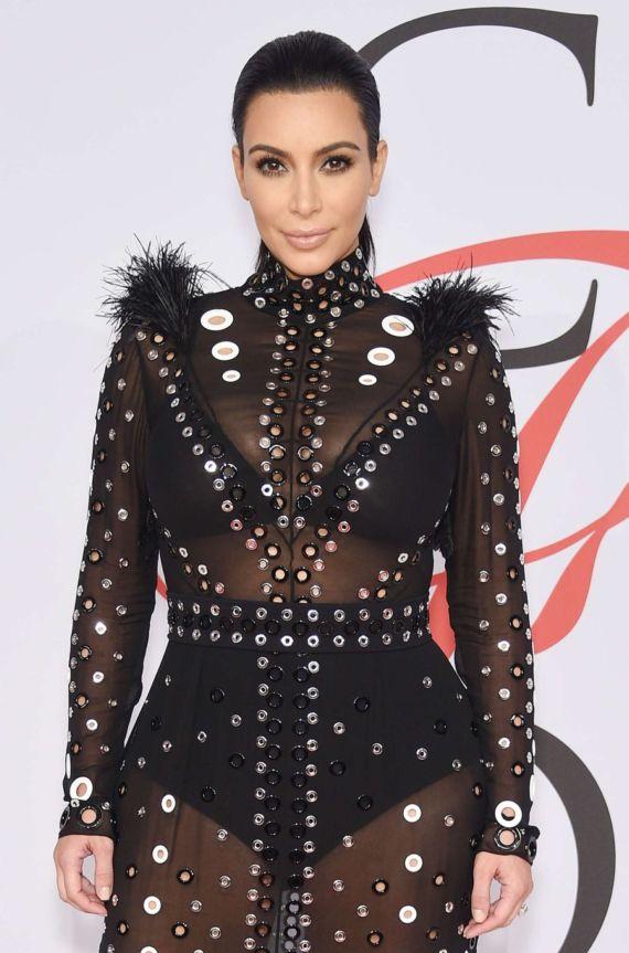 Kim Kardashian At CFDA Fashion Awards