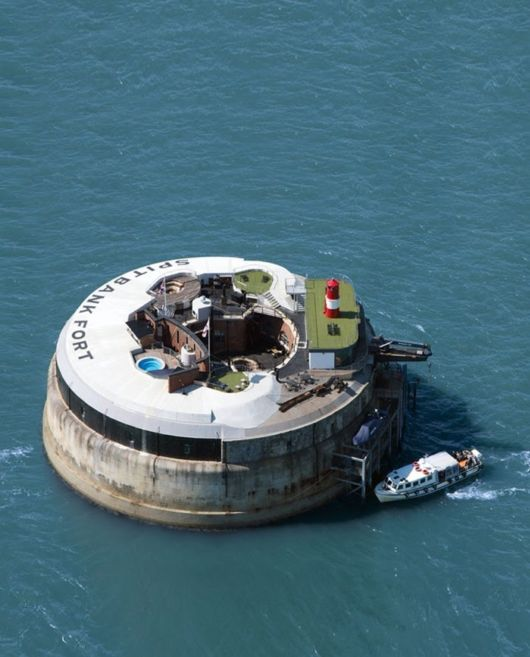 Abandoned Sea Fort Transforms Into A Luxury Hotel
