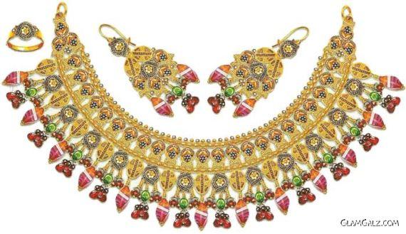 Heavy Wedding Jewelry For Ladies