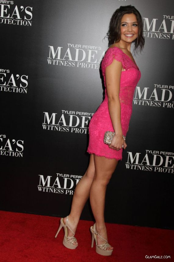 Danielle Campbell At The Madeas Witness Protection Premiere