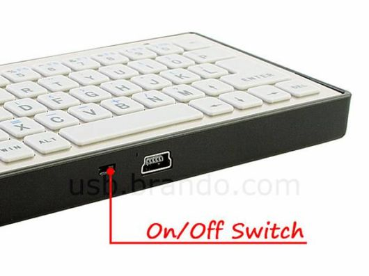 Tiny Keyboard for Mobile Devices