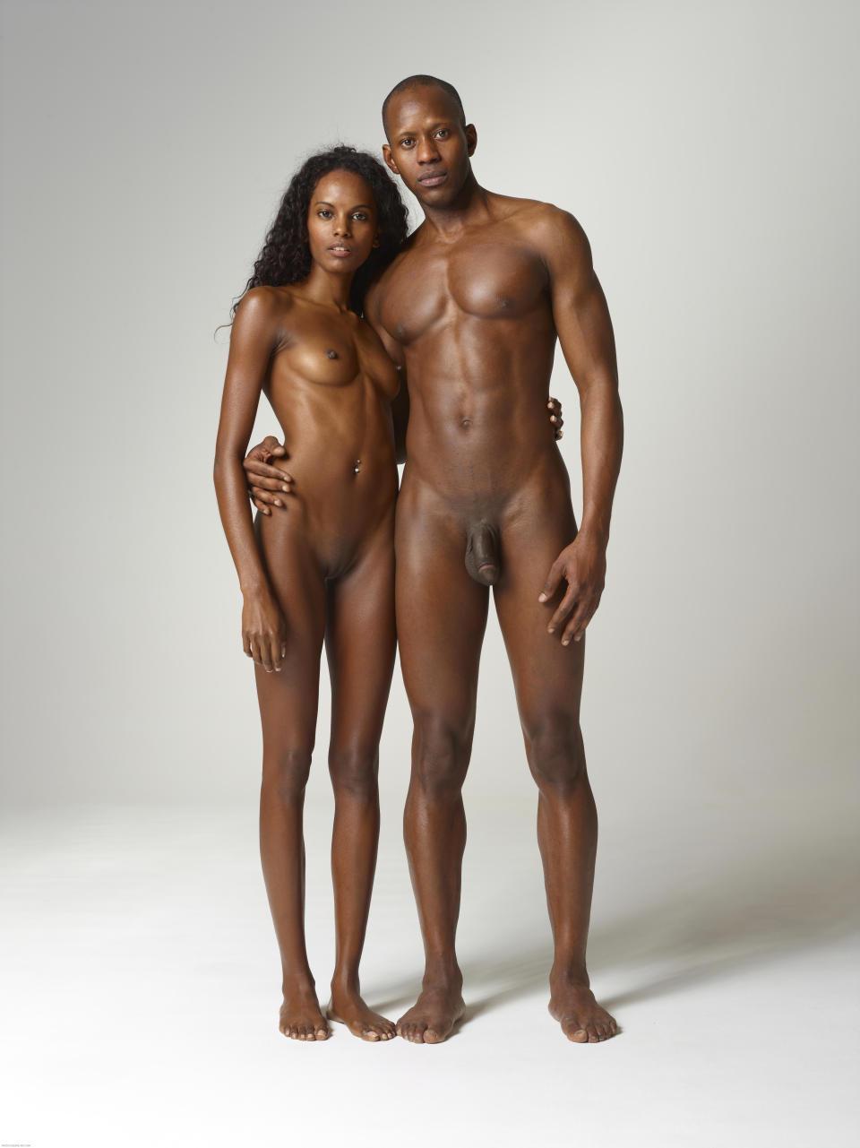 Black Nude Couple