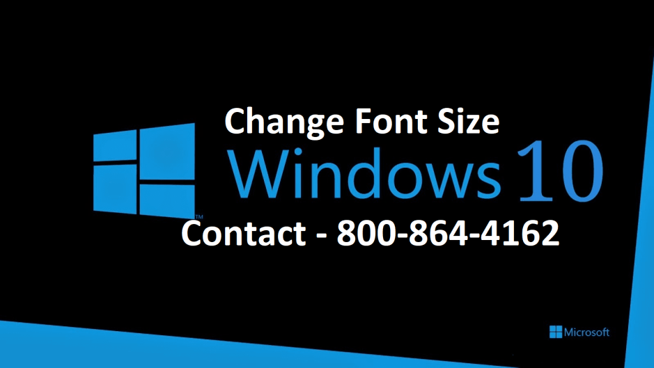 Change Font Size Windows 10