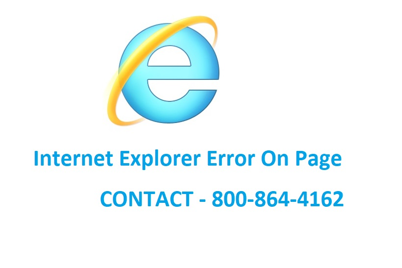 Internet Explorer Error On Page