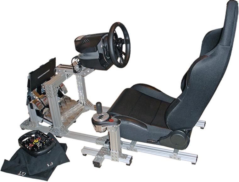 racing simulator chair plans fishing academy 80 20 inc
