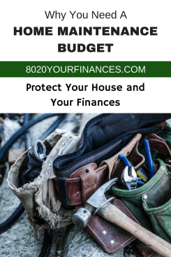 Why you need a home maintenance budget! Don't forget your rental properties too!