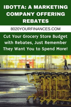 Ibotta: A marketing company offering grocery store rebates