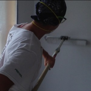 drywall spraying