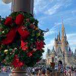 Christmas Decorations Arrive At Magic Kingdom