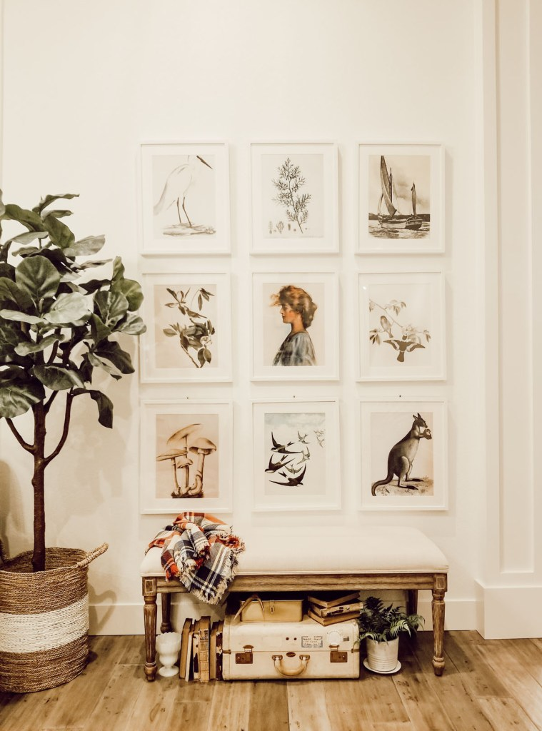 create a stunning wall gallery