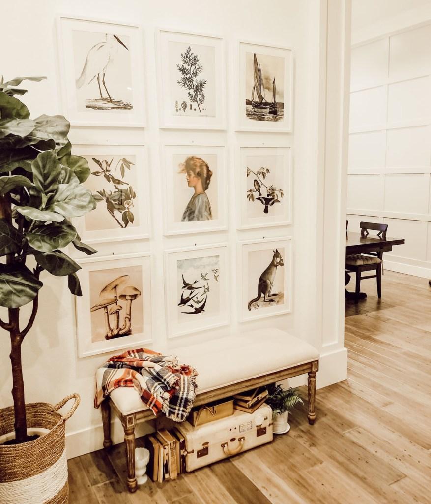stunning wall gallery