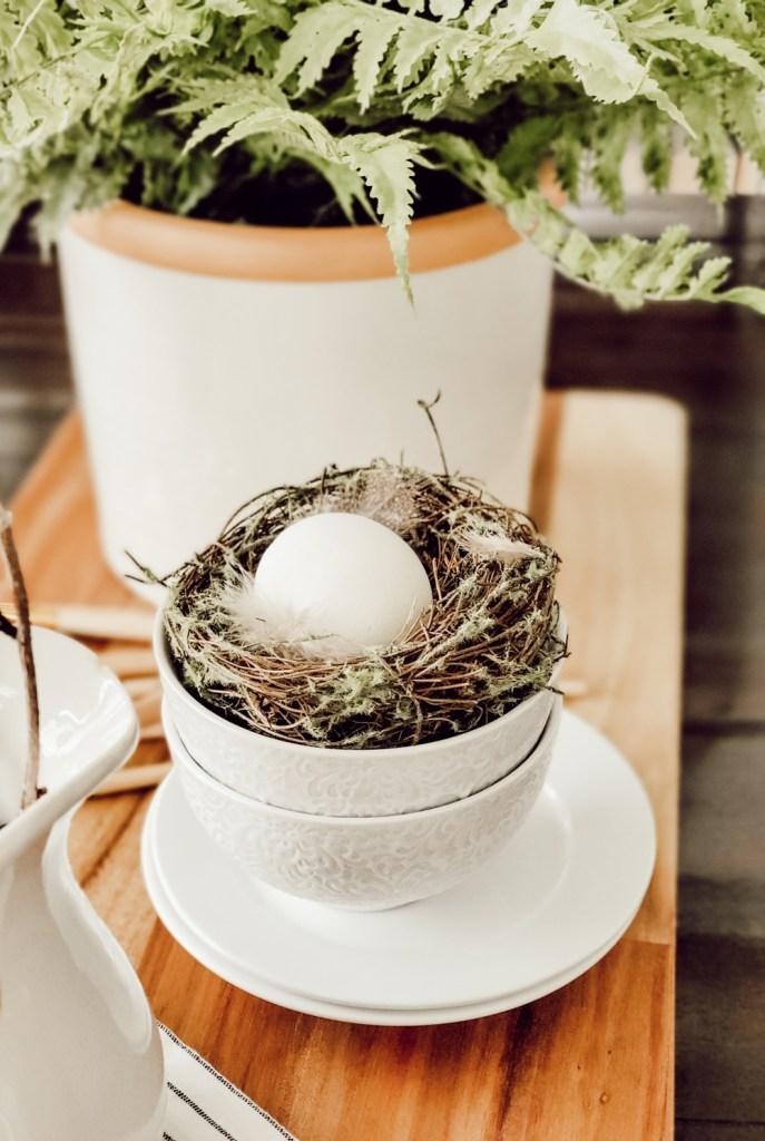 Stunning Easter egg centerpiece