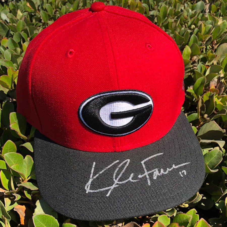 Kyle Farmer Georgia Hat