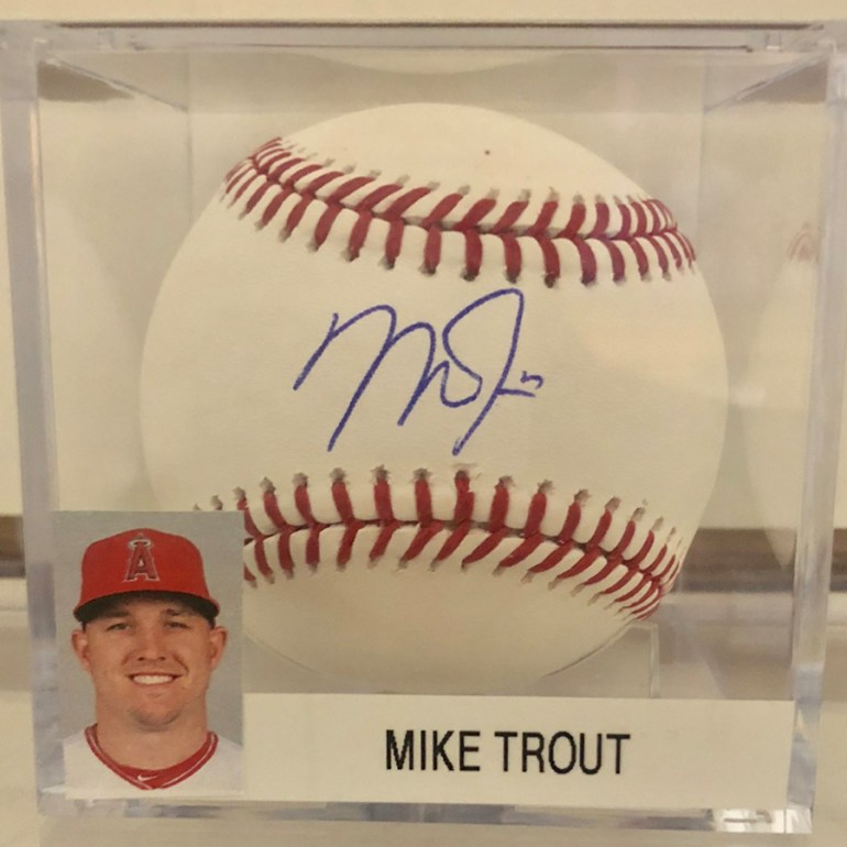 Mike Trout MLB Baseball