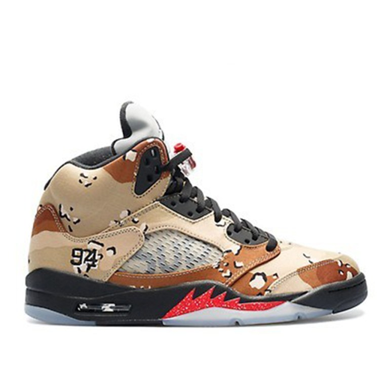 Camouflage Supreme 5's