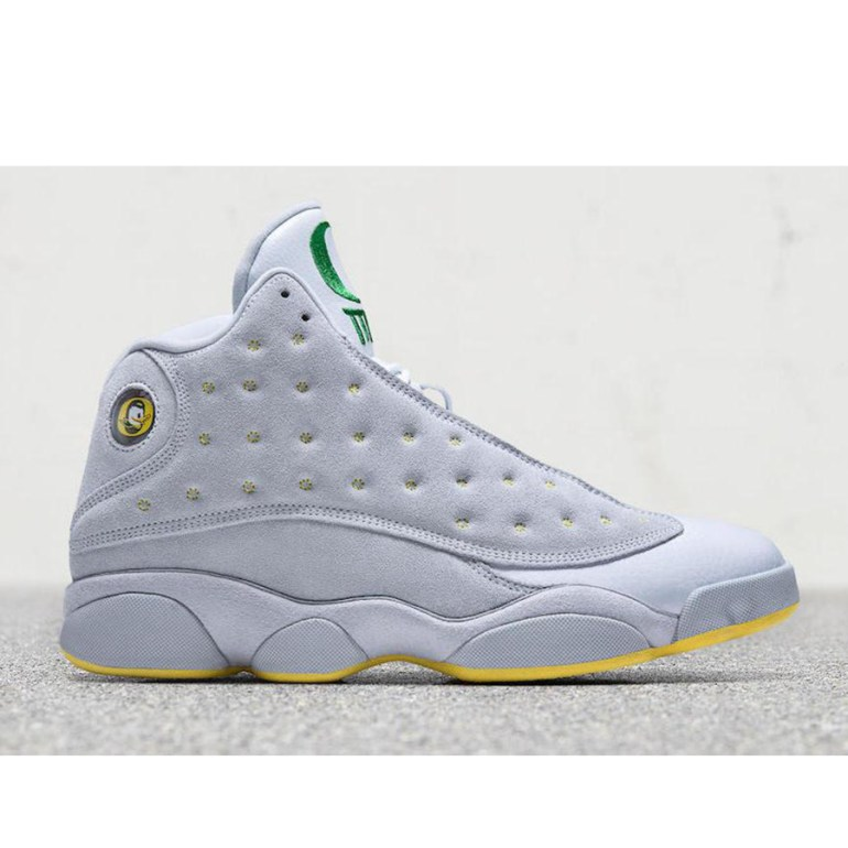 Oregon Grey Suede 13's