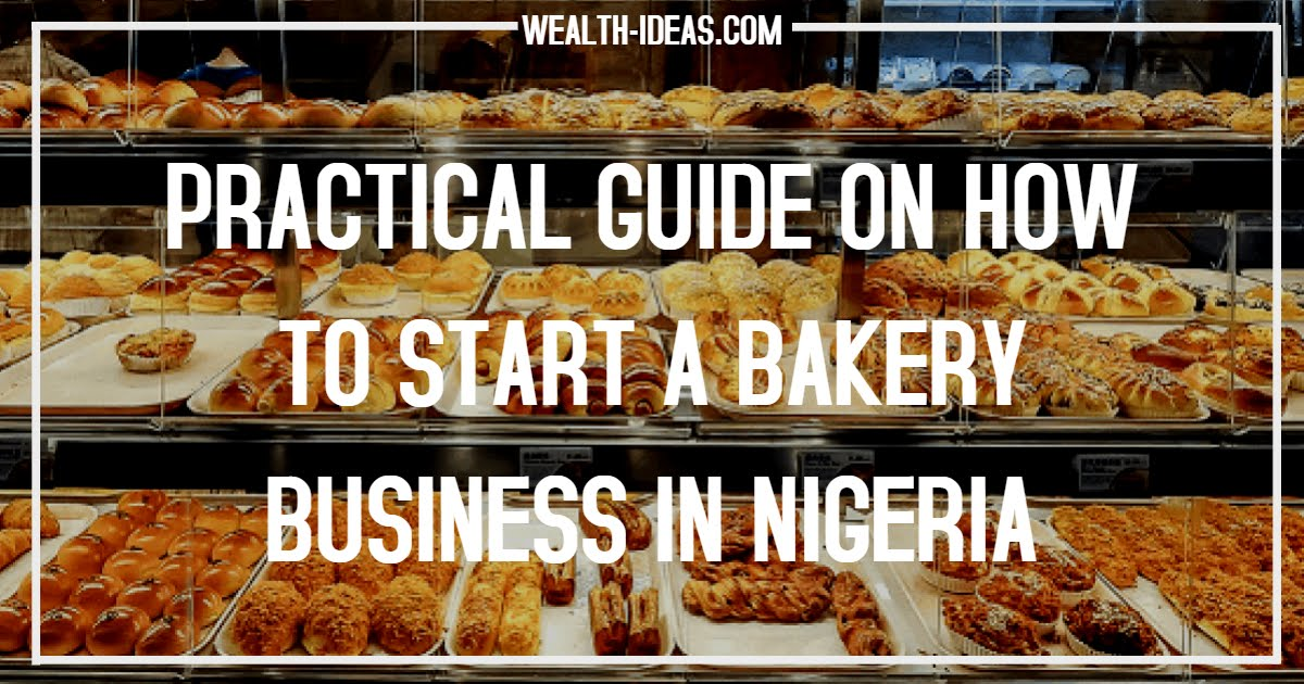 HOW TO START A PROFITABLE BAKERY BUSINESS