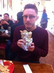 Big ass burrito!