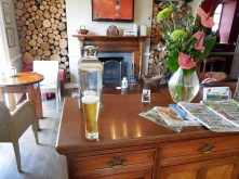 Interior with beer
