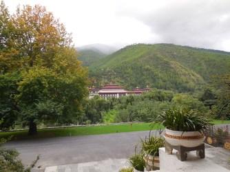 Thimphu's governmental building