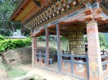 Prayer wheel area