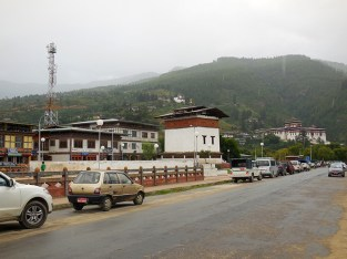 Rinpung view from Paro town