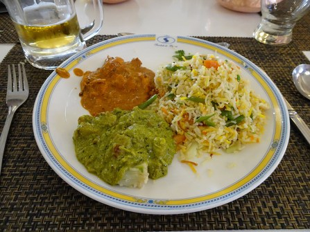 Curries from Castle in Mysore