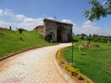 Tunnel gardens near Srirangapatna Temple