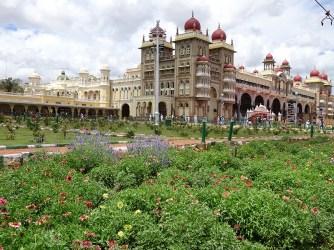 Mysore Palace and gardens