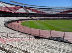 Stadium interior from stand