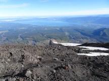 Distant lake view