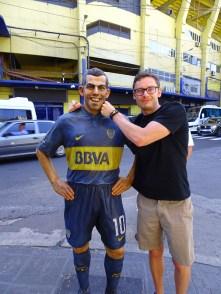 Me and Carlos Tevez