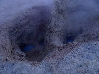 Bubbling geysers of death