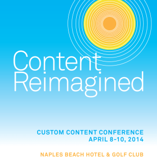 Branding and Event Materials for the Custom Content Conference