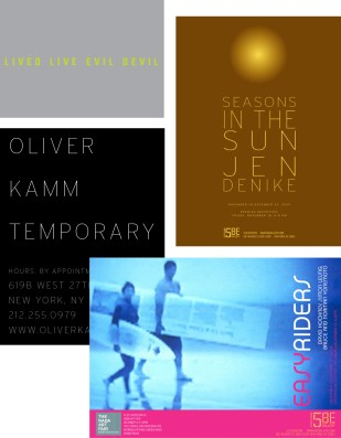 Print Design for Oliver Kamm / 5BE Gallery