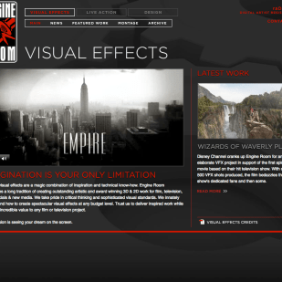 Engine Room Visual Effects