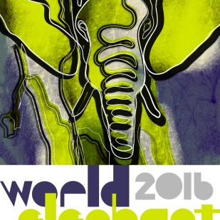 Poster for World Elephant Day 2016