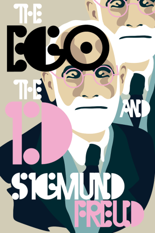 """""""The Ego and the Id"""" Cover for """"Recovering the Classics"""""""