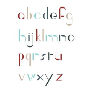 Type Design: Ingrid (Lowercase)