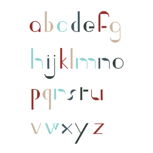 Type Design: Ingrid (Lowercase)
