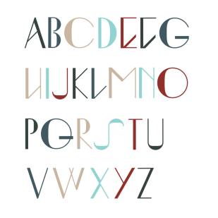 Type Design: Ingrid (Uppercase)