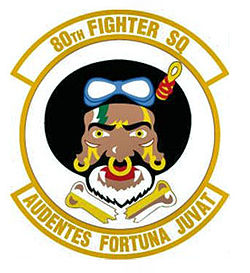 80thfightersquadron decal patch