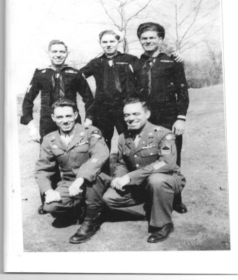 Ezra Cason WWII and Brothers