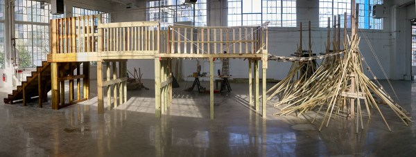 Between the Particular Contradiction and the General Antagonism (Bridge), 2015