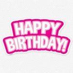 Happy 80s Birthday January 21st