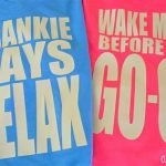Frankie or Wham! T-shirts
