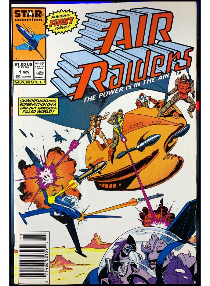 Air Raiders #1