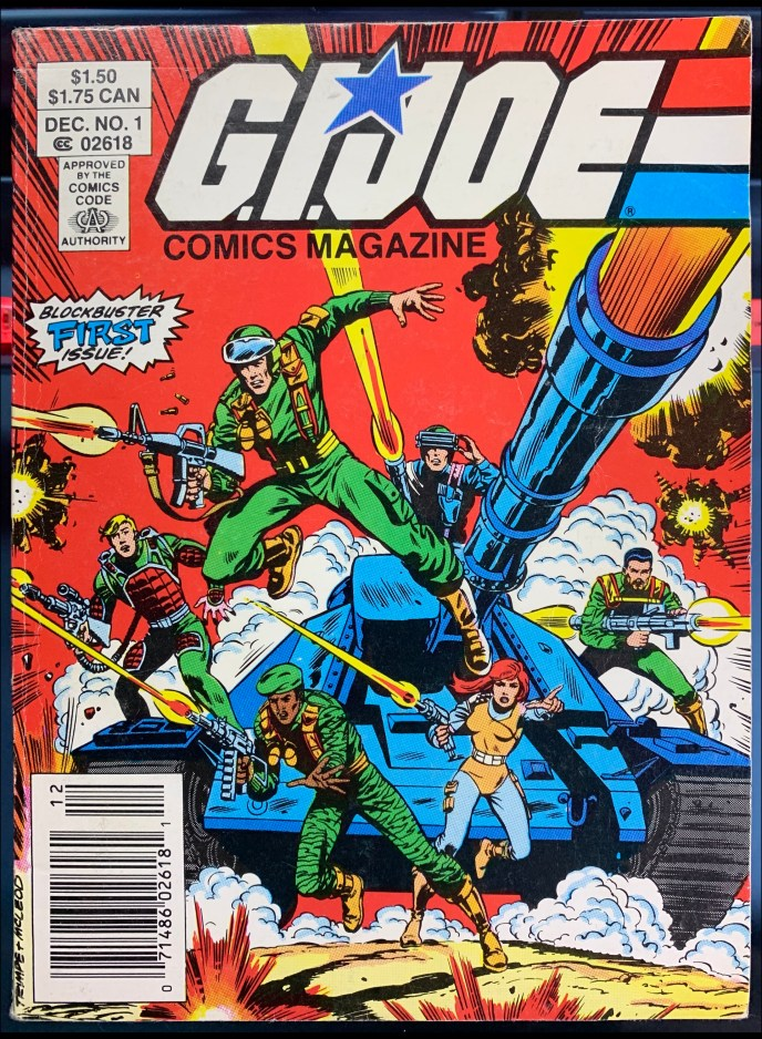 G.I. Joe Comics Magazine #1